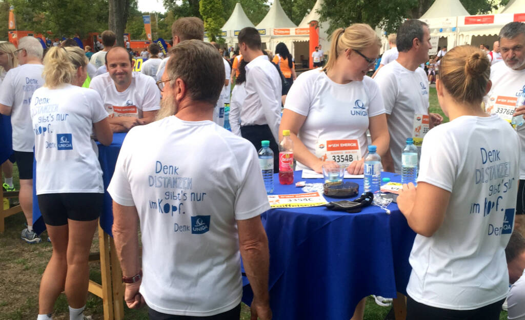 Uniqa beim Wien Energie Business Run 2015 (03.09.2015)
