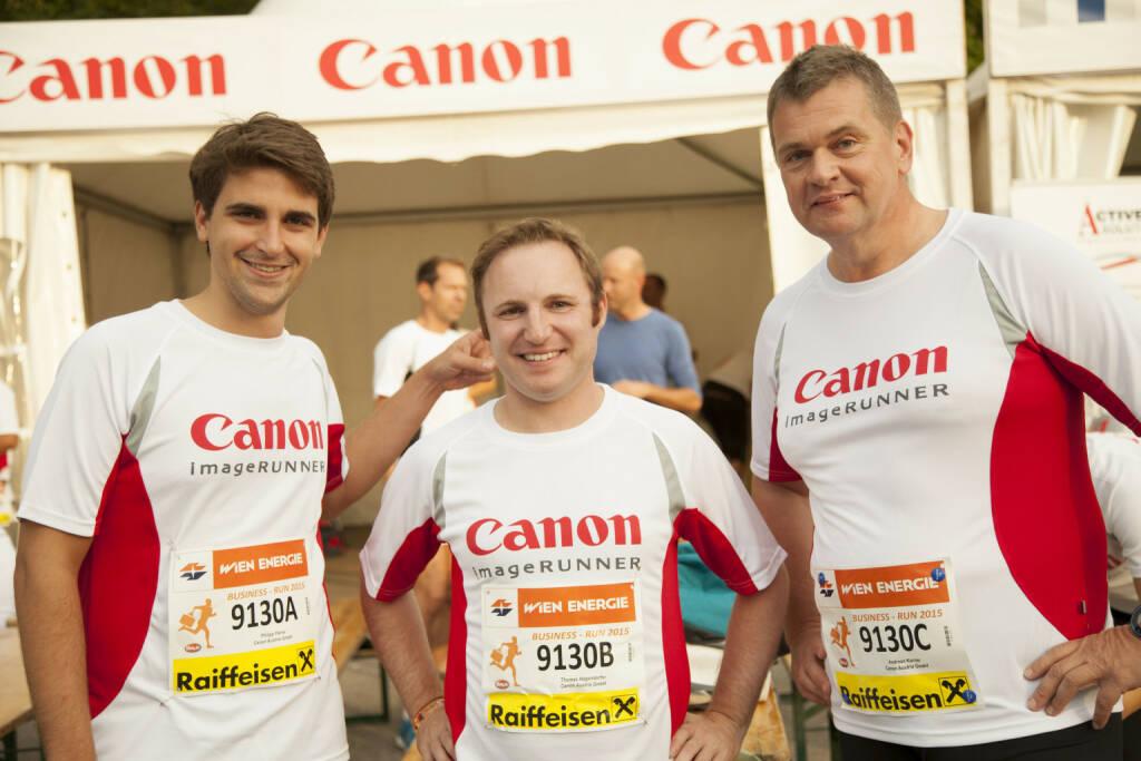 Parrer Philip, Hagendorfer Thomas, Karner Andreas, Canon, © Stefan May (04.09.2015)