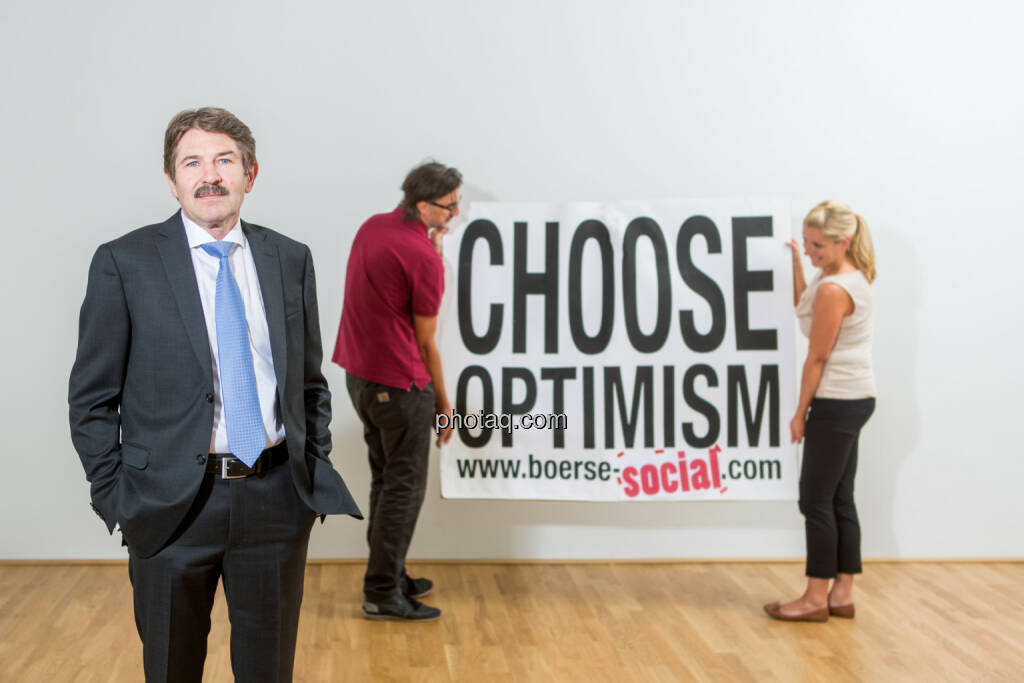 Ernst Vejdovszky (S Immo), Josef Chladek, Lisa Wagerer (S Immo), Choose Optimism, © Martina Draper/photaq (07.09.2015)