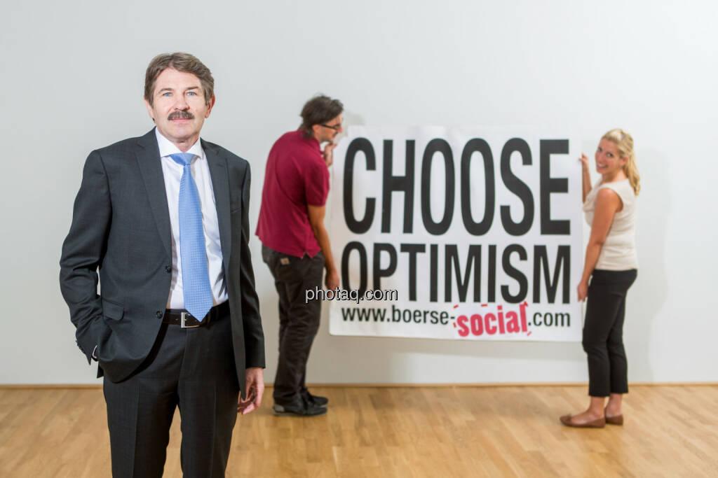 Ernst Vejdovszky (S Immo), Josef Chladek, Lisa Wagerer (S Immo), Choose Optimism, © Martina Draper/photaq (07.09.2015)
