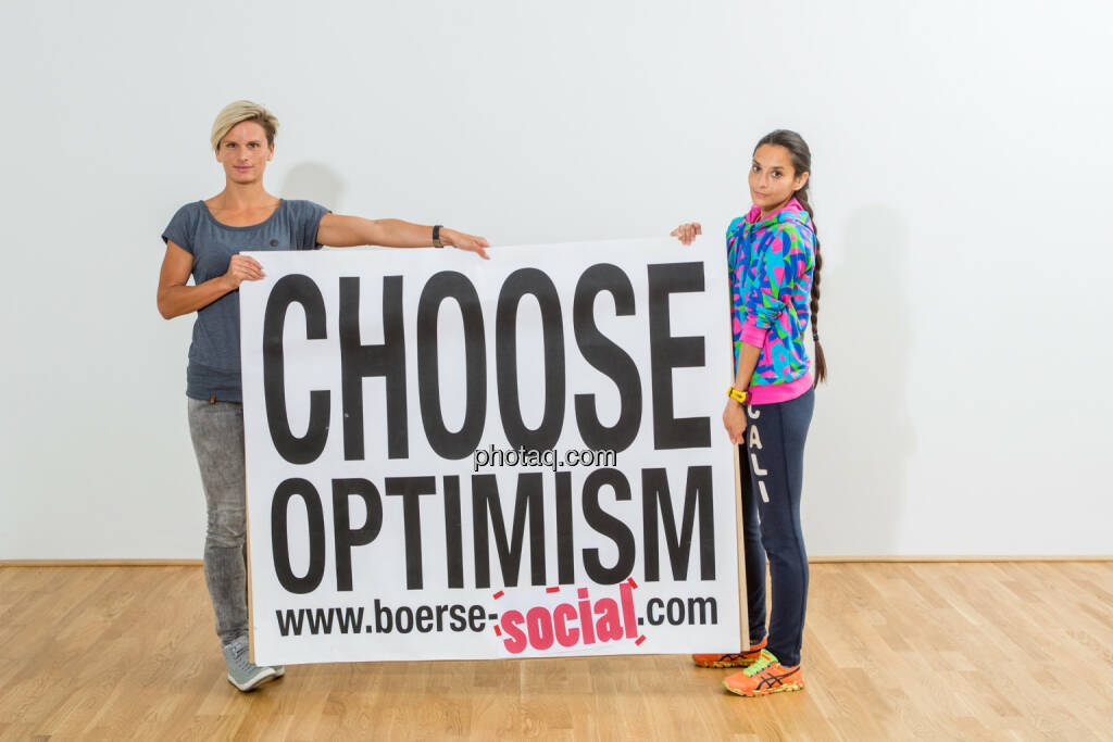 Elisabeth Niedereder, Hajnalka Soos, Choose Optimism, © Martina Draper/photaq (07.09.2015)