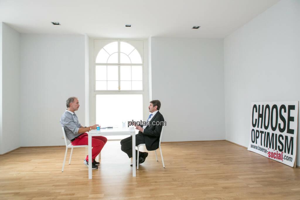 Christian Drastil, Ernst Vejdovszky (S Immo), © Martina Draper/photaq (07.09.2015)