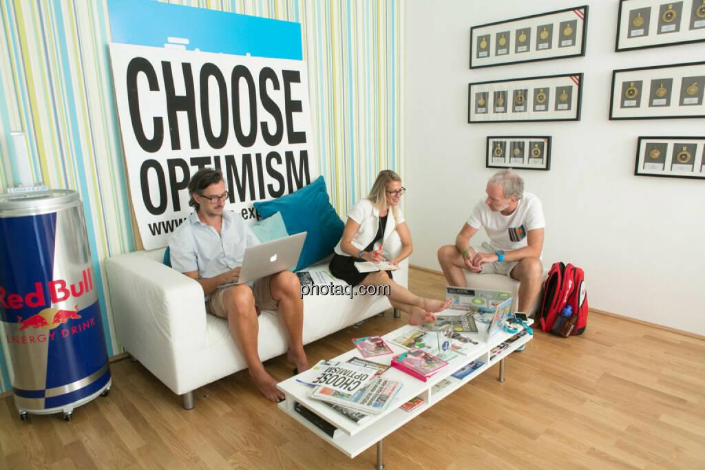 Josef Chladek, Nina Bergmann (Springer Verlag), Christian Drastil, © Martina Draper/photaq.com (07.09.2015)