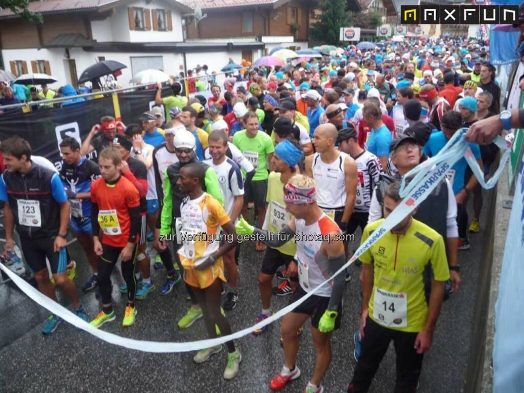 Achenseelauf 2015, vor dem Start, © MaxFun Sports (09.09.2015)