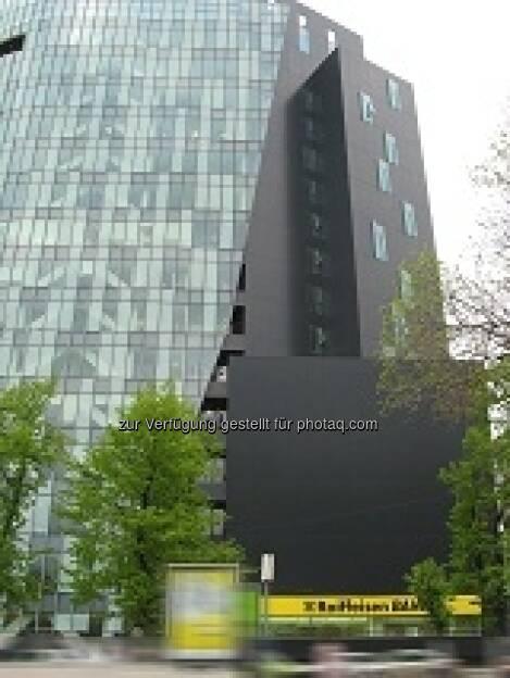 Raiffeisen Bank erwirbt Privatkundenportfolio von Citibank Rumänien - 100.000 Kunden und mehr als € 90 Millionen an Bruttoaktiva werden übertragen, im Bild das Headquarter der Raiffeisen Bank in Rumänien (c) RZB (21.03.2013)