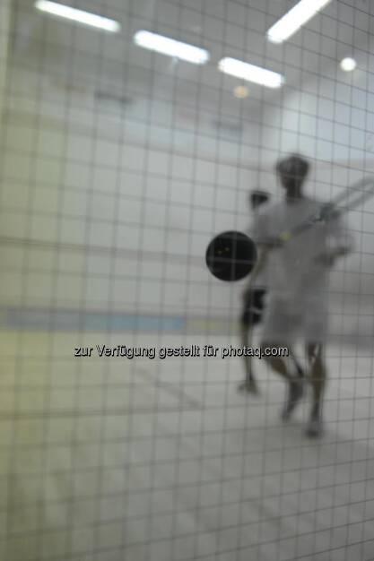 Squash, Squashball - mit freundlicher Genehmigung von Clemens Wallishauser (österreichischer Topspieler Squash), Foto by Bettina Greslehner  (21.03.2013)