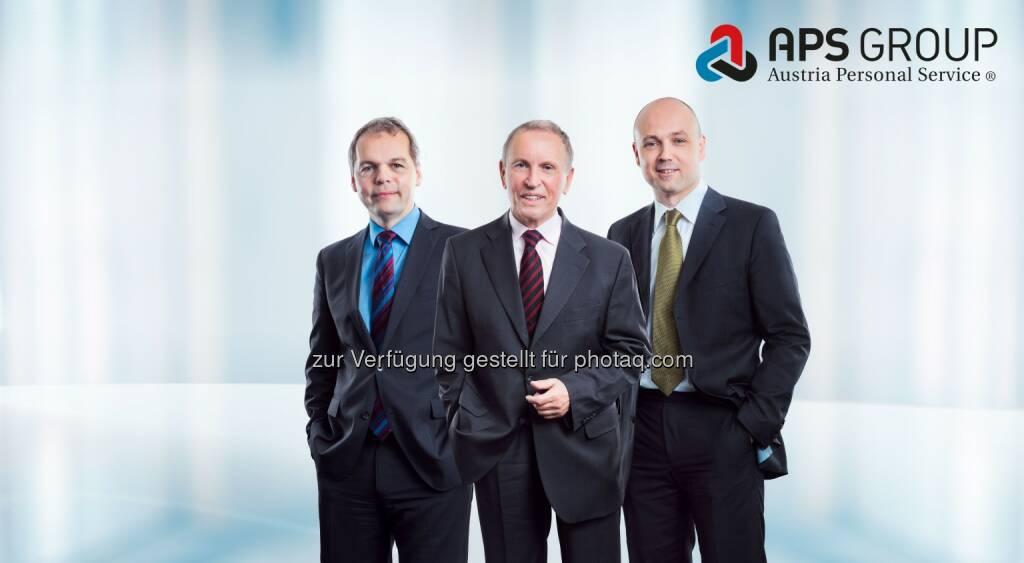 Michael Feier (Geschäftsführer), Hans-Gert Breinl (Eigentümer), Gert Breinl (Geschäftsführer) : Das österreichische Familienunternehmen APS Group expandiert und übernimmt die InntalWork GmbH aus Kufstein : Fotocredit: www.teresa-rothwangl.com, © Aussendung (10.09.2015)