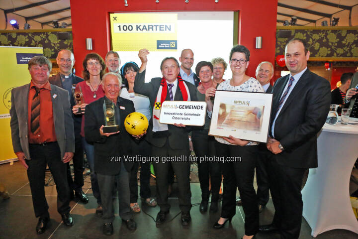 Gemeinde Dellach im Gailtal gewinnt mit dem Projekt Alsole, einem Sozialverein, den Impuls Gemeindeinnovationspreis : Fotocredit: FOTO im Lohnbüro/Roland Schuller
