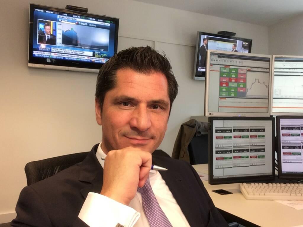 Oswald Salcher hat mit Flatex und Cefdex in Österreich viel vor, © Aussender (10.09.2015)