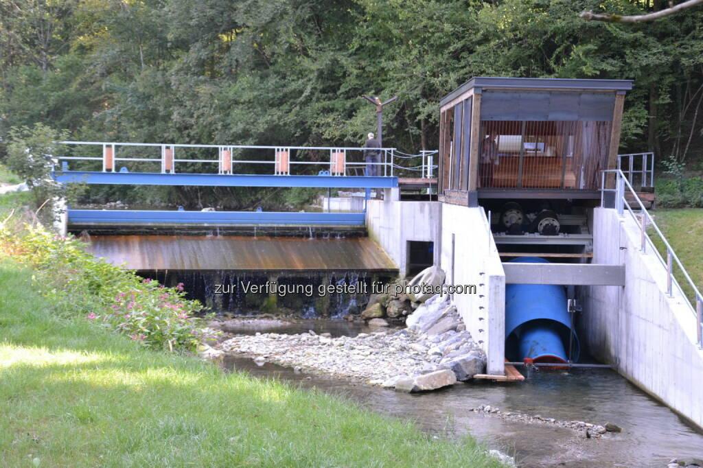 Wasserkraftwerk Jessnitz, © Fotocredit: www.eisenstrasse.info (12.09.2015)