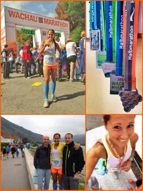 Monika Kalbacher beim Wachau Marathon 2015, © Diverse  (13.09.2015)