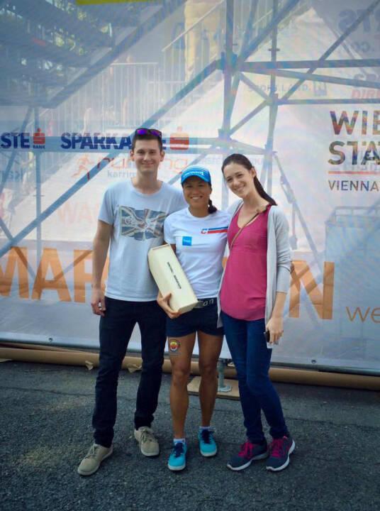 Annabelle Mary Konczer (Tristyle Runplugged Runners): AK-Sieg beim Wachau Halbmarathon 2015