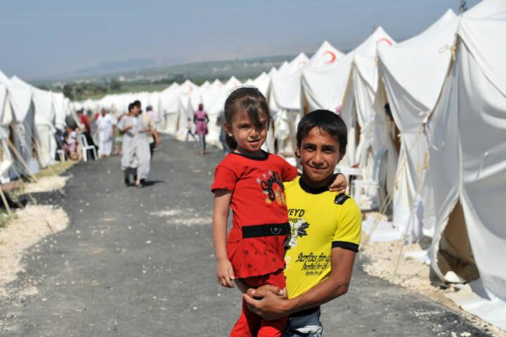 Flüchtlinge, Syrien, Flüchtlingslager, Kinder, <a href=http://www.shutterstock.com/gallery-2725936p1.html?cr=00&pl=edit-00>thomas koch</a> / <a href=http://www.shutterstock.com/editorial?cr=00&pl=edit-00>Shutterstock.com</a>, thomas koch / Shutterstock.com