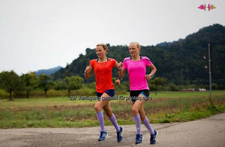 Anna Hahner und Lisa Hahner, Hahnertwins