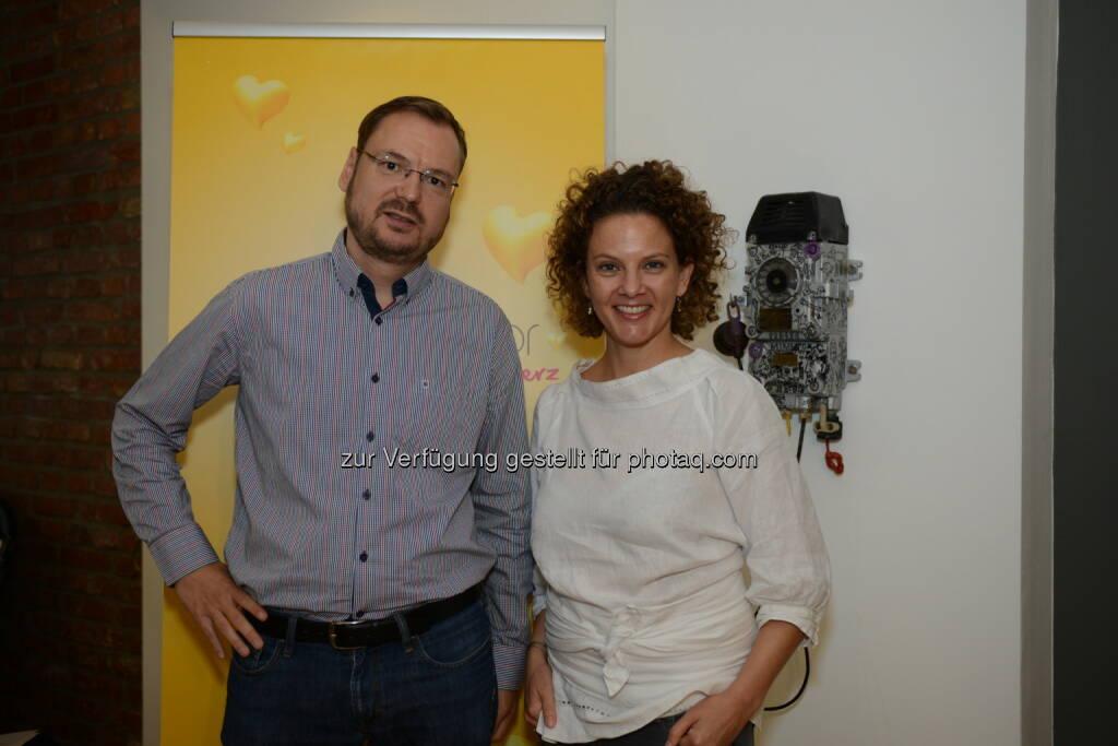 Markus Pilsl, Sabine Hoffmann, © ©ambuzzador GmbH/©Alexandra Ebert (14.09.2015)