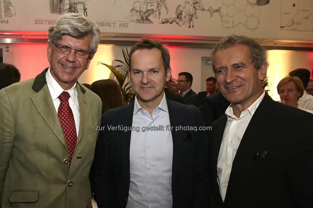 Werner Kerschbaum (Rotes Kreuz), Franz Schellhorn (Agenda Austria), Herbert Paierl (PCB Consulting), © Fotocredit: © Accenture/APA/ Roßboth  (15.09.2015)