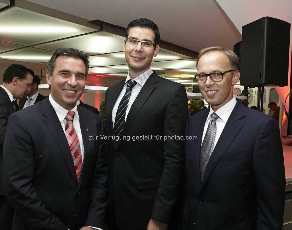 Michael Zettl (Accenture), George Wallner (bmwfw), Klaus Malle (Accenture), © Fotocredit: © Accenture/APA/ Roßboth  (15.09.2015)