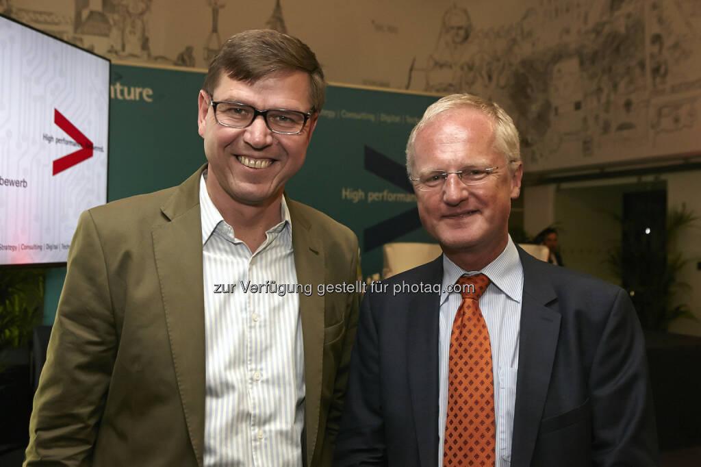 Werner Wutscher Martin Gleitsmann, WKÖ, New Venture Scouting, © Fotocredit: © Accenture/APA/ Roßboth  (15.09.2015)