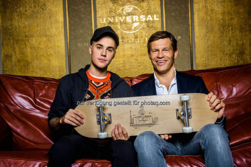 Justin Bieber, Frank Briegmann, © Universal Music Entertainment (16.09.2015)