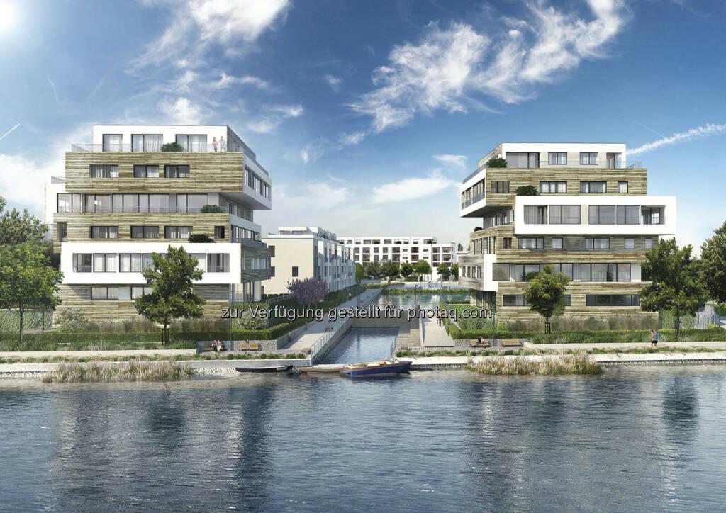 """Buwog legt Grundstein für Wohnquartier """"52° Nord"""" in Berlin – Vertriebsstart für """"Ankerviertel"""" in Kürze (Bild: Buwog Group), © Aussendung (17.09.2015)"""