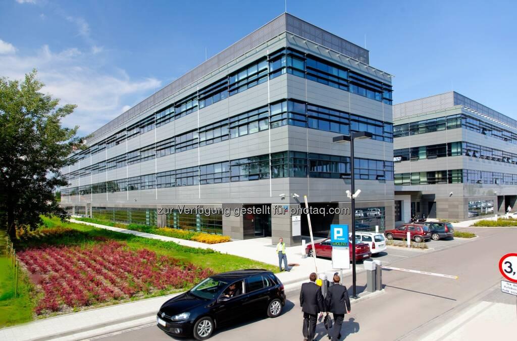Bauphase I des Poleczki Business Park : CA Immo verkauft 50%-Anteil am Poleczki Business Park am Warschauer Flughafen an Joint-Venture Partner UBM, nun zu 100% im Eigentum von UBM : © CA Immo, © Aussendung (21.09.2015)