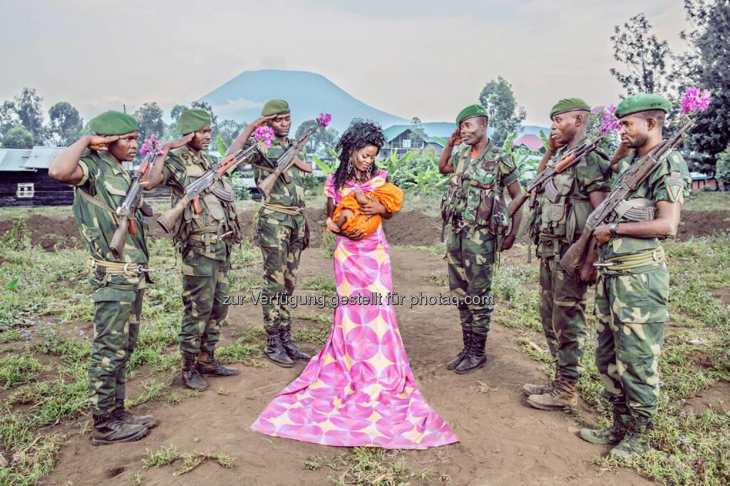 """Belgische Fotografin gewinnt den Alfred Fried Photography Award 2015 mit Visionen von einem besseren Afrika : Patricia Willocq für das """"Friedensbild des Jahres 2015"""" geehrt : © Patricia Willocq, © Aussendung (21.09.2015)"""