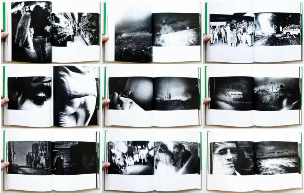 Daido Moriyama - A Hunter (森山大道 狩人 映像の現代10), Chuo-koron-sha 1972, Beispielseiten, sample spreads - http://josefchladek.com/book/daido_moriyama_-_a_hunter_森山大道_狩人_映像の現代10, © (c) josefchladek.com (22.09.2015)