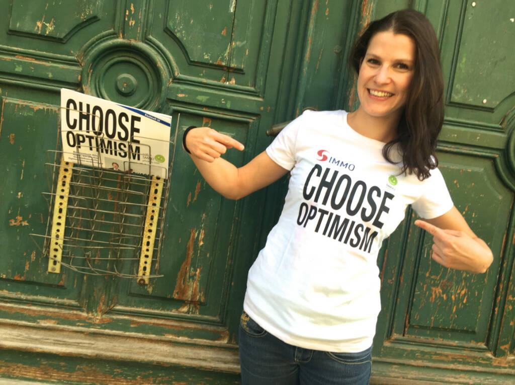 Choose Optimism Corinna Choun Triathlon Smeil (S Immo Kollektion), mehr unter http://photaq.com/search/Choun , © Diverse Fotografen / Aktion wurde vom Börse Express 2014 an photaq/BSN übetragen (22.09.2015)