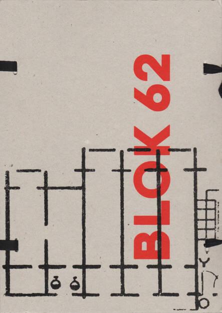 Imrich Veber - BLOK 62, Self published 2015, Cover - http://josefchladek.com/book/imrich_veber_-_blok_62, © (c) josefchladek.com (23.09.2015)