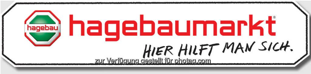 Logo hagebaumarkt : Österreichische hagebau Gesellschafter übernehmen Baumax Standorte : Vier österreichische hagebau Gesellschafter betreiben zukünftig Märkte in Eisenstadt, Gralla, Graz, Judenburg, Mistelbach und St. Pölten : ©hagebau, © Aussendung (25.09.2015)
