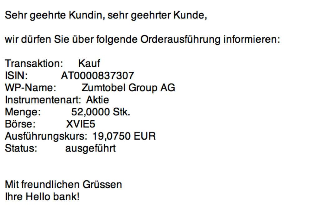 Tag 59: Kauf 52 Zumtobel zu 19,075 Euro (25.09.2015)