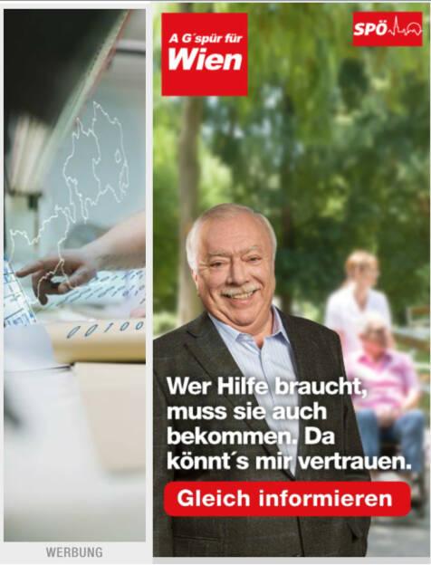 Tradinghilfe durch Michael Häupl (25.09.2015)