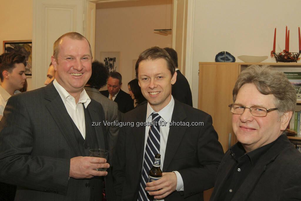 Alexander Stummvoll (Vermögensberater), Gustav Hübner (HYPO Oberösterreich), Michael Veit (Vertriebsleiter & Prokurist von FinanzAdmin) (22.03.2013)
