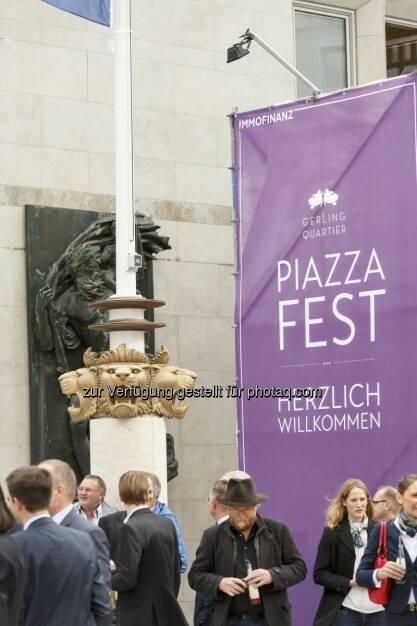 Herzlich Willkommen zum Piazza Fest, © (c) Immofinanz (29.09.2015)