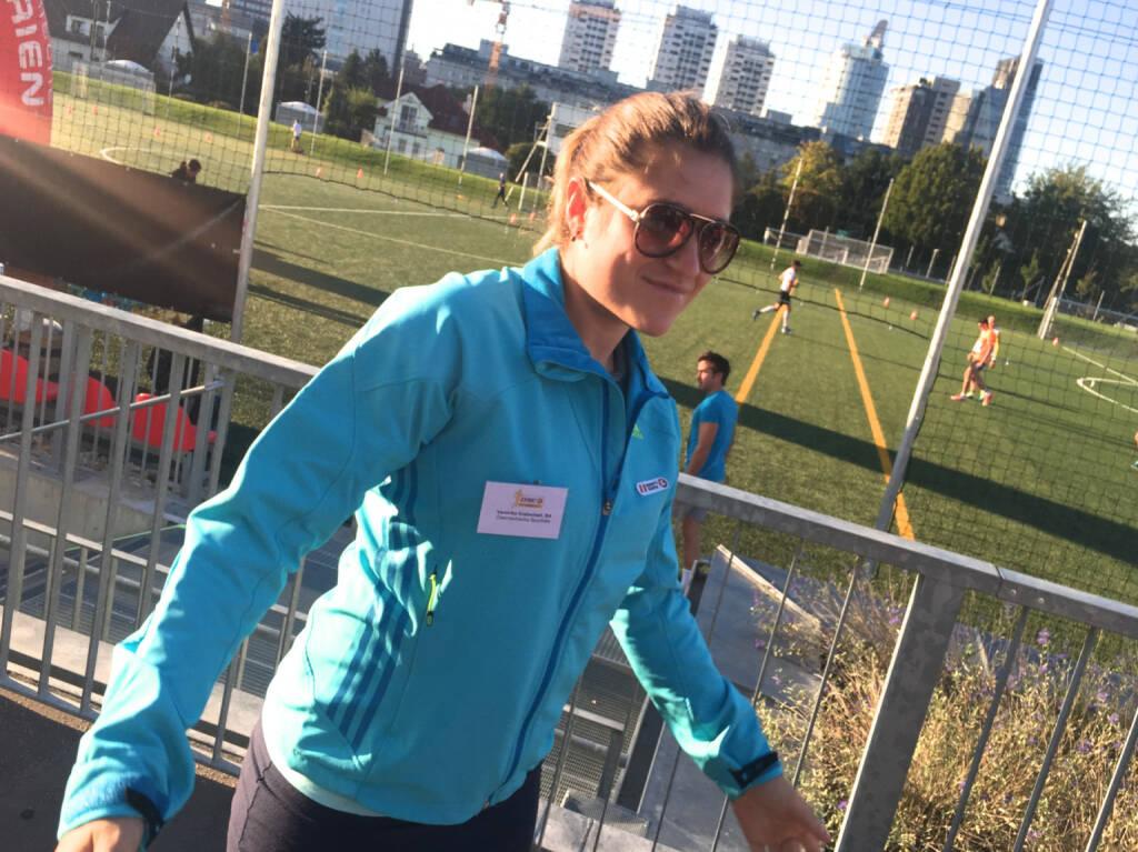 Veronika Kratochwil, Sporthilfe (29.09.2015)