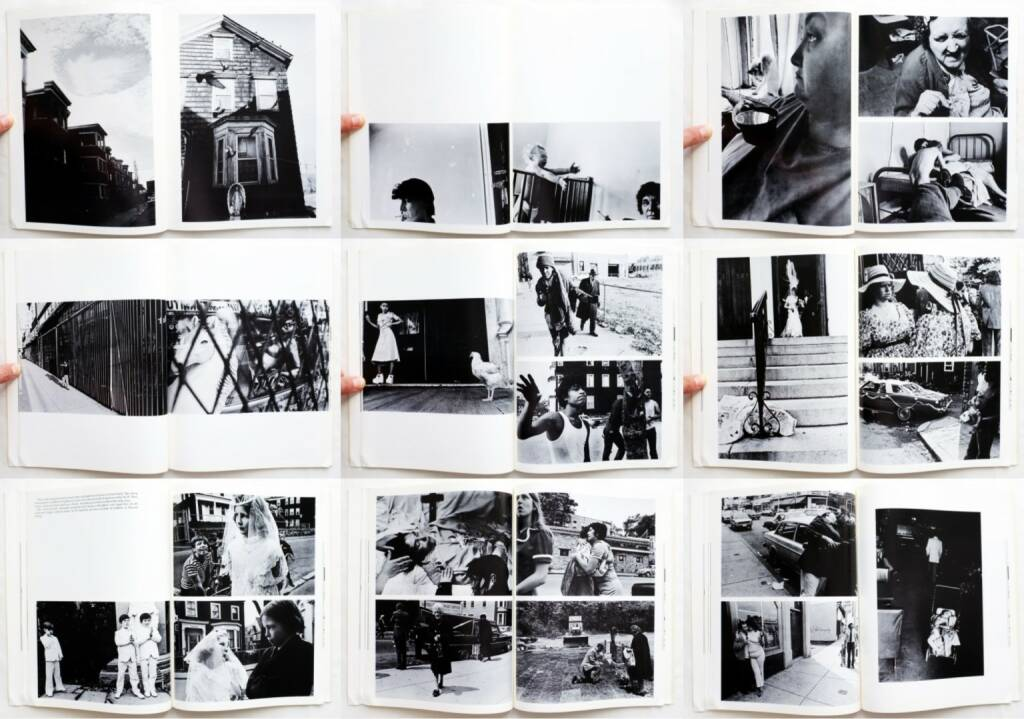 Eugene Richards - Dorchester Days, Many Voices Press 1978, Beispielseiten, sample spreads - http://josefchladek.com/book/eugene_richards_-_dorchester_days, © (c) josefchladek.com (30.09.2015)
