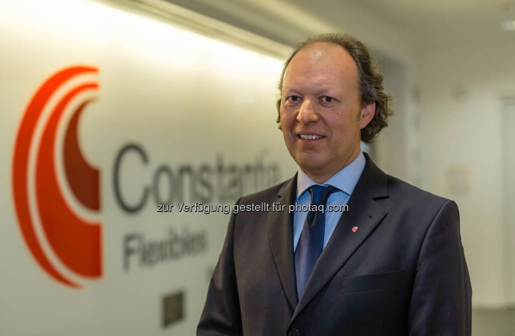 Alexander Baumgartner : Vorstandsvorsitzender Constantia Flexibles ab 1. Oktober 2015 : © Constantia Flexibles , © Aussendung (01.10.2015)