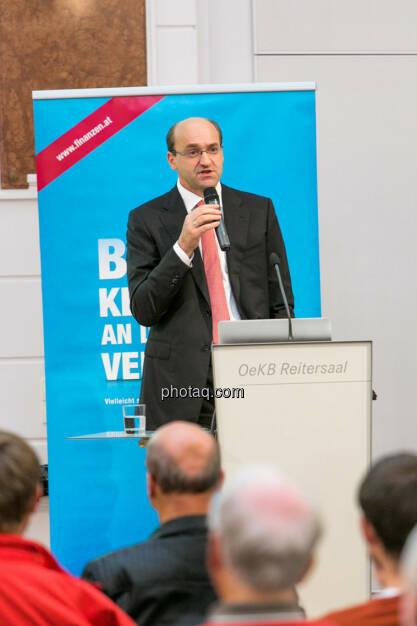 Ernst Huber (Hello bank!), © photaq/Martina Draper (01.10.2015)