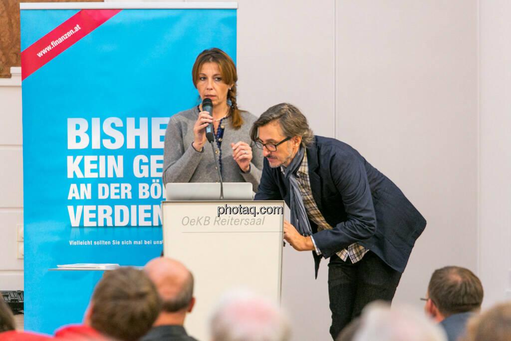 Silke Schlünsen (Oddo Seydler), Josef Chladek, © photaq/Martina Draper (01.10.2015)
