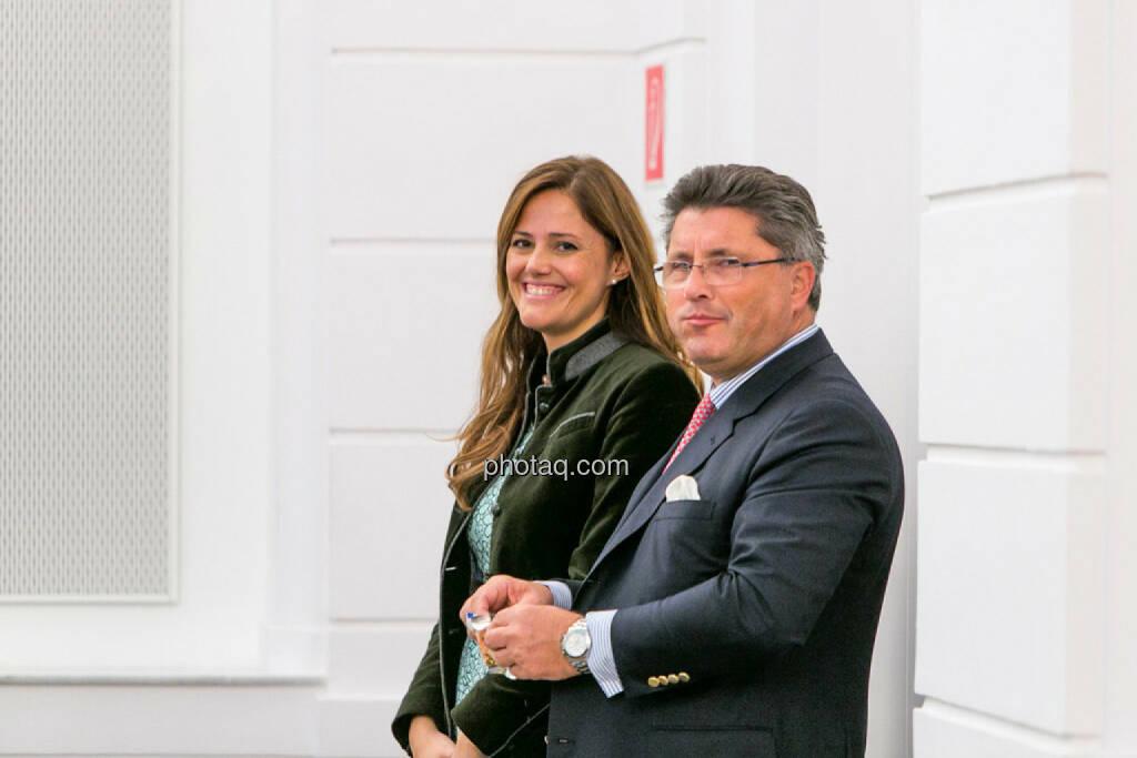 Milena Ioveva, Karl-Heinz Strauss, Porr, © photaq/Martina Draper (01.10.2015)