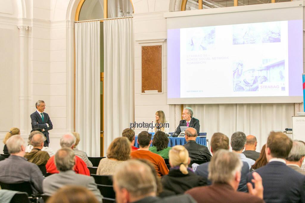 Nina Bergmann (finanzen.at/Springer), Christian Drastil, © photaq/Martina Draper (01.10.2015)