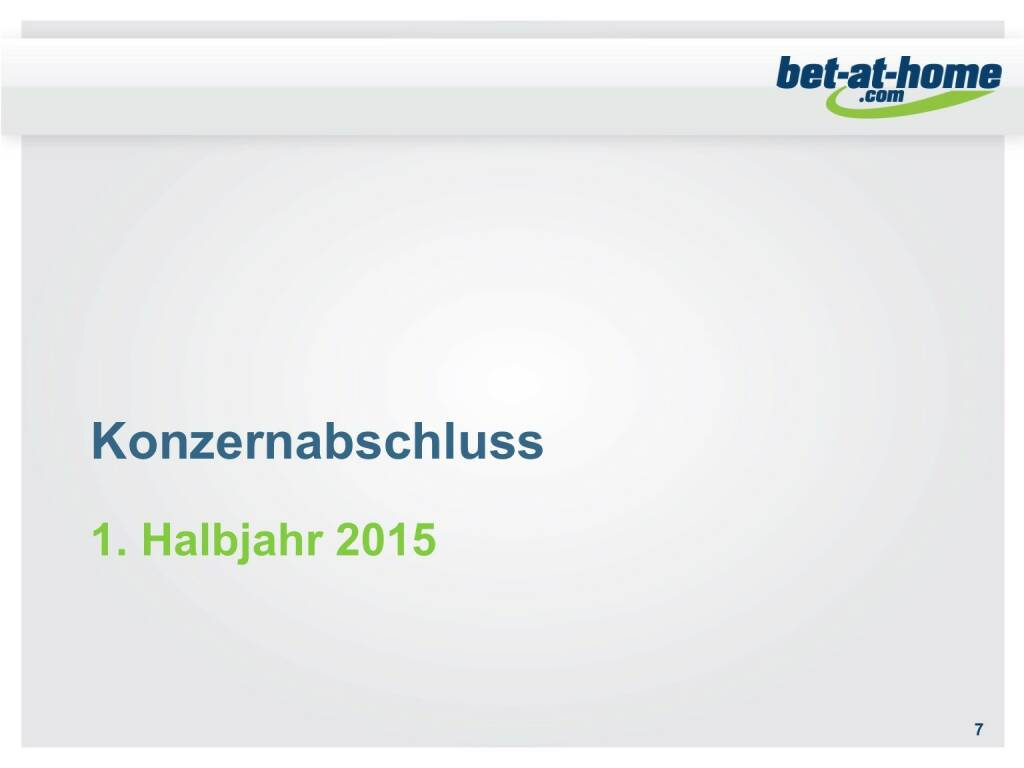 bet-at-home.com Konzernabschluss 1. HJ 2015 (01.10.2015)