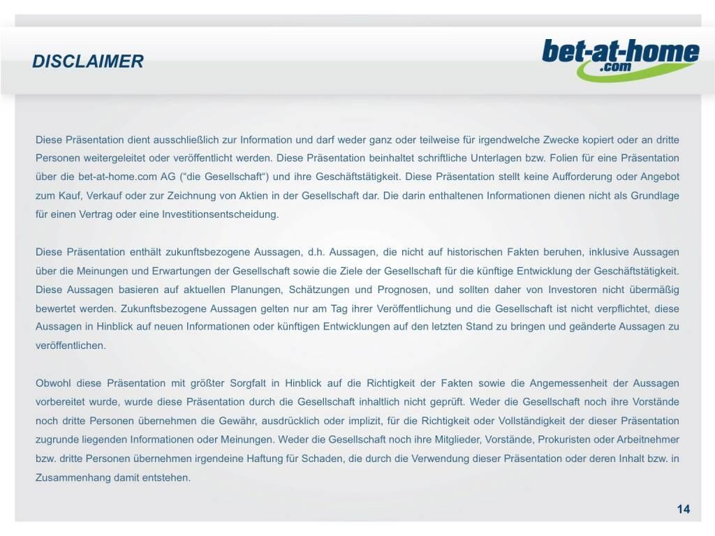 bet-at-home.com Disclaimer (01.10.2015)
