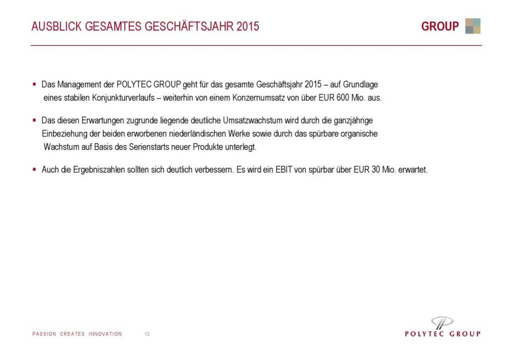 Polytec Ausblick (01.10.2015)