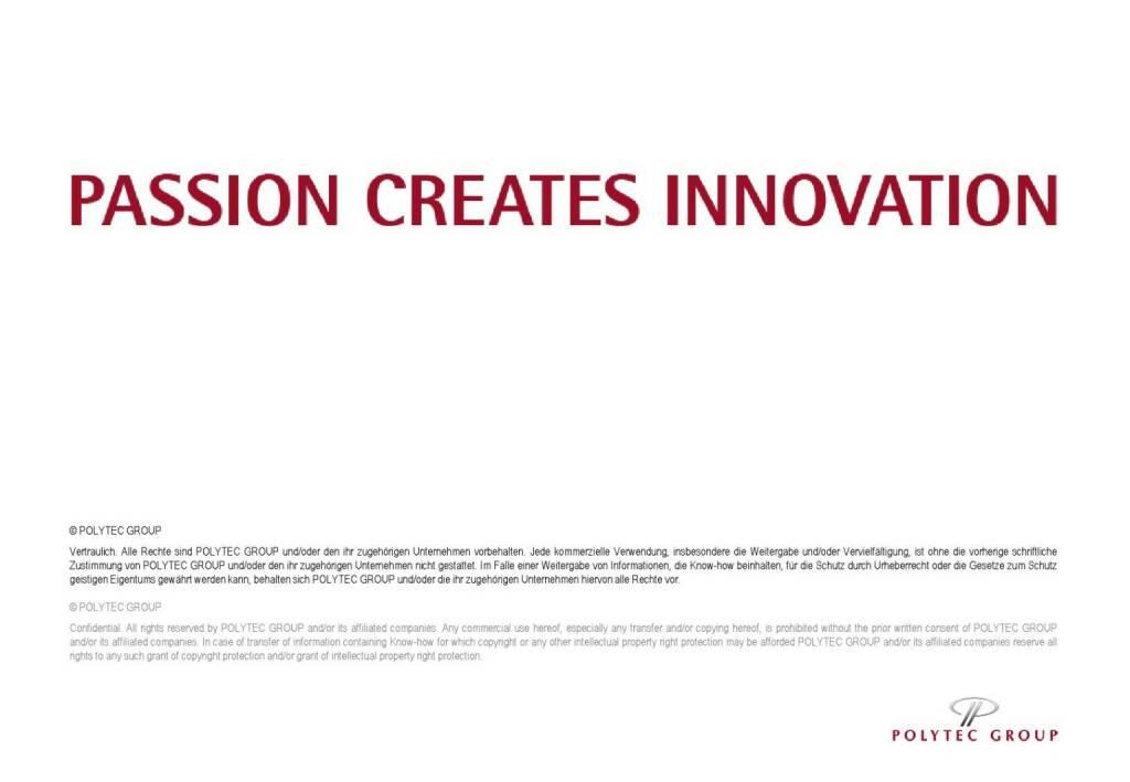 Polytec Passion Creates Innovation (01.10.2015)