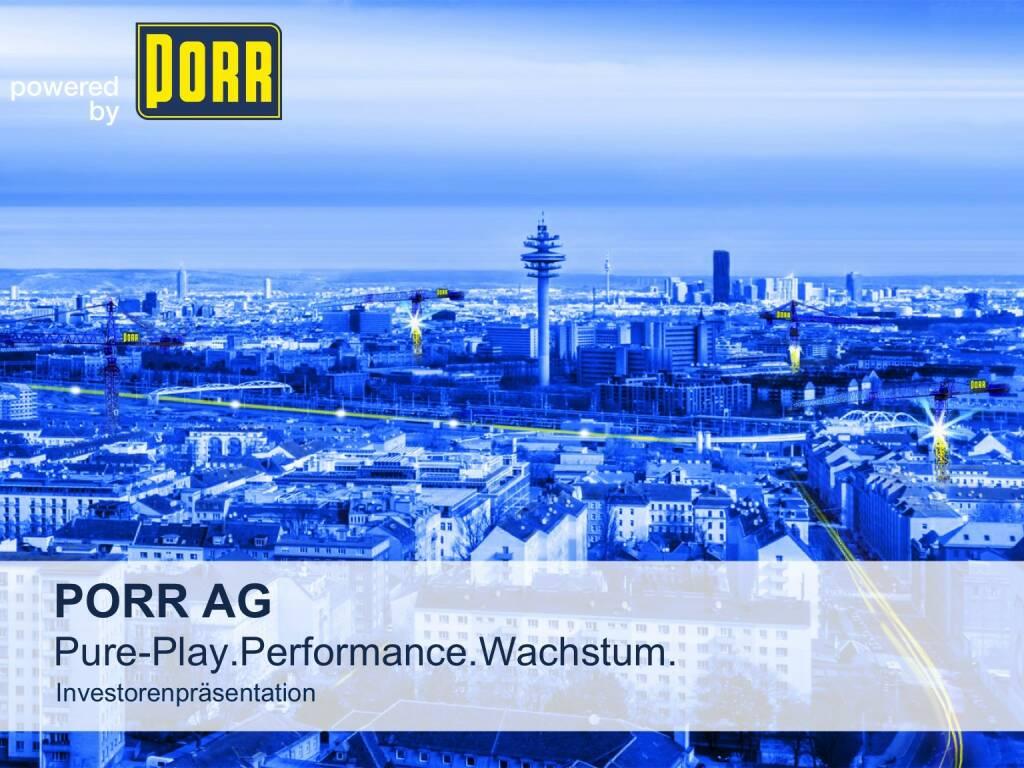 Porr Pure-Play.Performance.Wachstum. (01.10.2015)