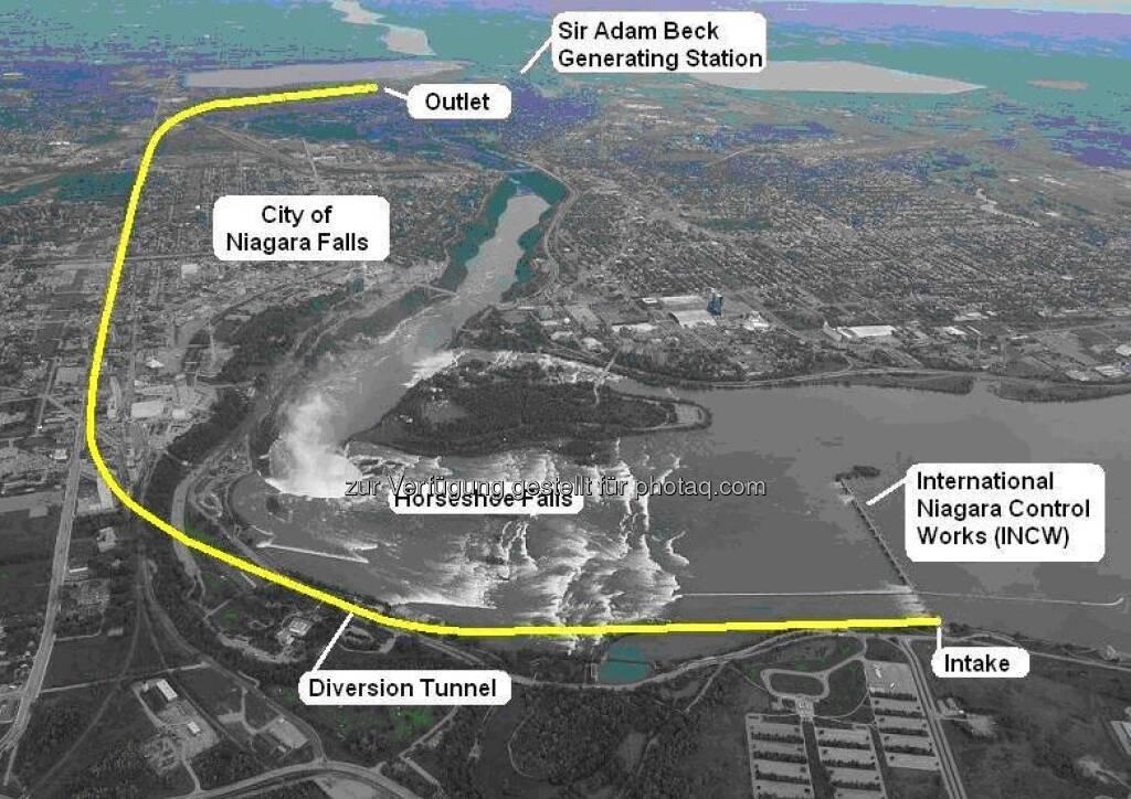 Strabag: Nach mehr als sieben Jahren Bauzeit ist nun das Niagara Tunnel-Projekt in Betrieb genommen worden. Das Schleusentor am Auslauf des Tunnels wurde in Anwesenheit von Projektbeteiligten des Auftraggebers Ontario Power Generation, der örtlichen Bauaufsicht von Hatch Mott MacDonald/Hatch Acres und des österreichischen Baukonzerns STRABAG geöffnet. Nachdem 24 Stunden Wasser ungehindert durch den 10,1 km langen Wasserzuleitungstunnel in der Nähe der berühmten Wasserfälle am Niagara Fluss geflossen ist, gilt das Jahrhundert-Bauwerk mit einem Bauvolumen von € 900 Mio. als fertig gestellt. (22.03.2013)