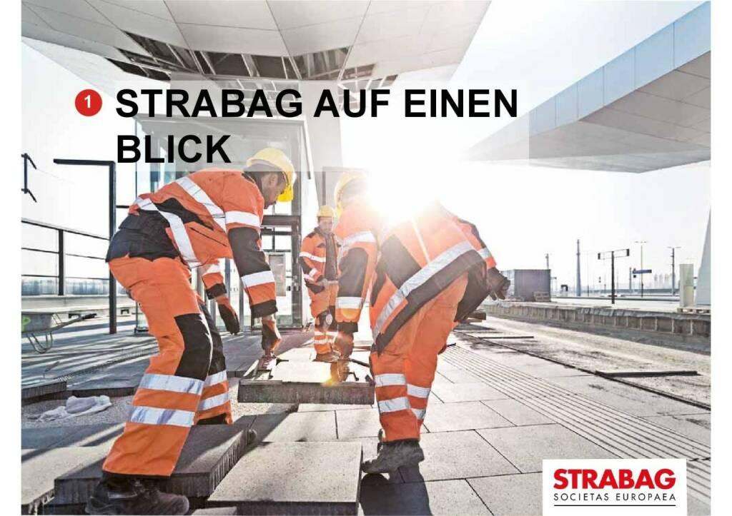 Strabag auf einen Blick (01.10.2015)
