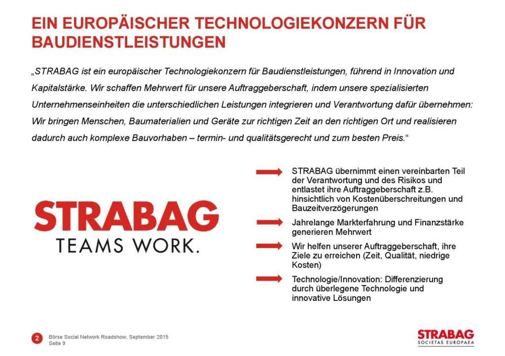 Strabag Technologiekonzern (01.10.2015)