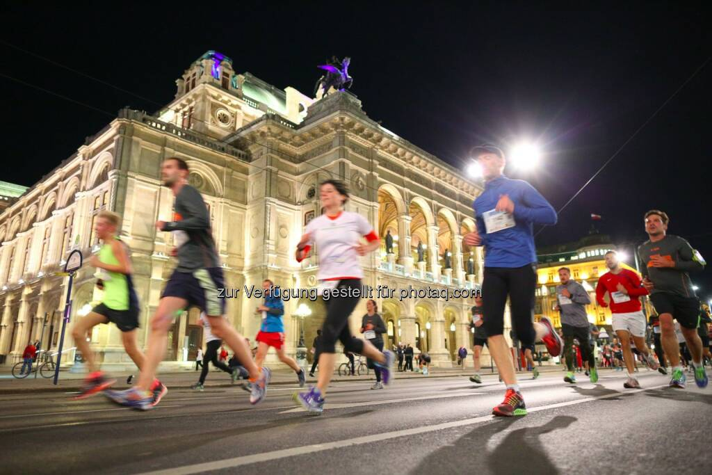 erste bank vienna night run 2015, Wien, Oper, © leisure.at/Ludwig Schedl (02.10.2015)